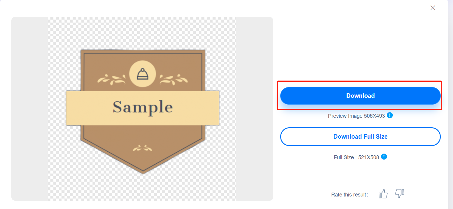how to remove background from a logo