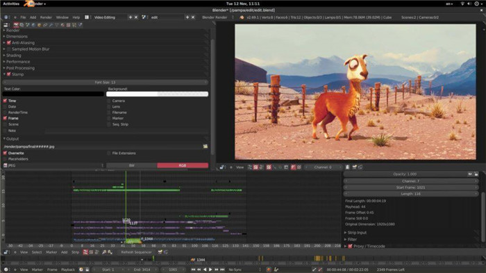 blender-free-video-editing-software