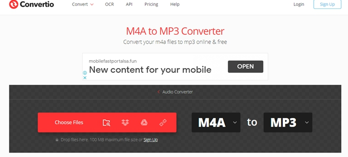 convertio-m4a-to-mp3-converter