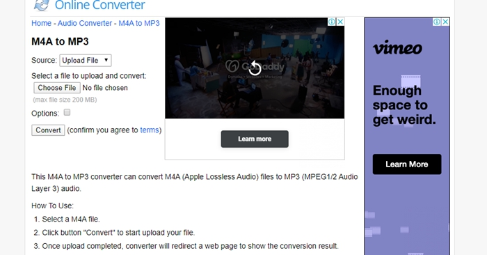 online-m4a-to-mp3-converter