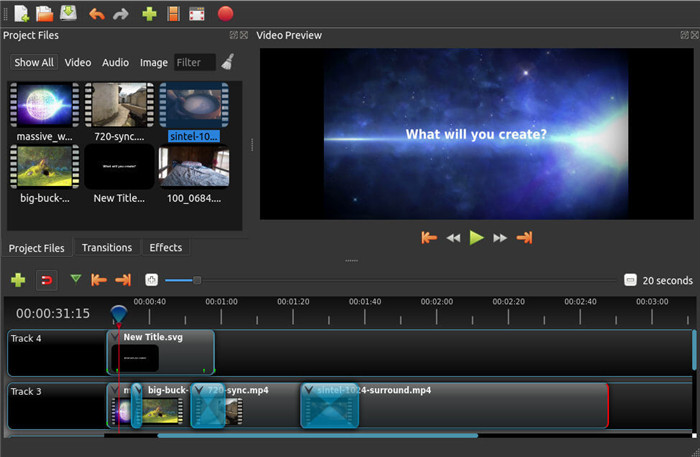 openshpot-video-editing-software
